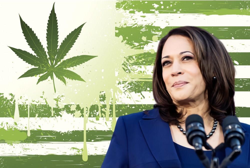 Kamala Harris just introduced a bill to decriminalize marijuana
